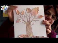 Tutorial bambini: collage d'autunno