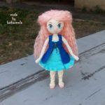 Free crochet doll patterns Reya, past 1: body