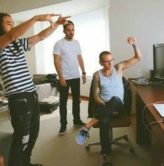 Chester, Mike and Steve