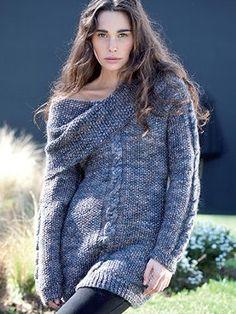 Free Luxury Roving Sweater Pattern
