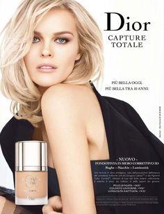 Dior Capture Totale Contract 2014 (Dior Beauty) Eva Herzigova