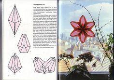 Bilderesultat for transparente fenstersterne für fortgeschrittene Paper Crafts Origami, Diy Origami, Origami Tutorial, Christmas Star, Christmas Crafts, Folded Paper Stars, Waldorf Crafts, Origami Stars, Window Art