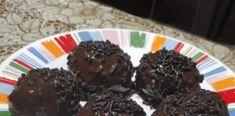 Μπάλες Σοκολάτες…τούμπανο! Pudding, Desserts, Food, Tailgate Desserts, Puddings, Dessert, Postres, Deserts, Meals