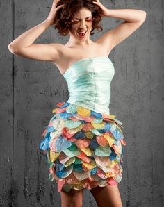 Ropa con material reciclado: diseño de prendas, ideas e ...