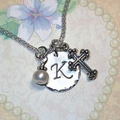 Hey, I found this really awesome Etsy listing at https://www.etsy.com/listing/73379431/medium-cross-hand-stamped-sterling