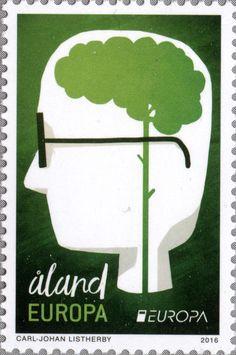 """Åland EUROPA """"Europa – Think Green"""" 2016"""