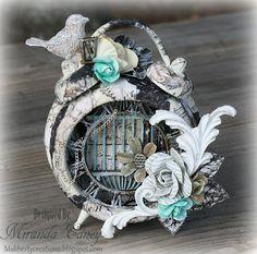 Msliberty Creations: Prima Engraver Altered Clock