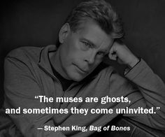 Stephen King is my literary hero! Creepy Quotes, Stephen King Quotes, Steven Pressfield, Steven King, A Writer's Life, Words To Use, Dark Quotes, Ring True, Book Writer