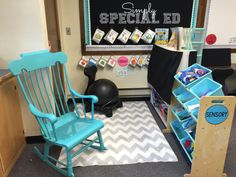 Autism Classroom Book Nook/ Sensory area! Classroom Library in an Autism Classroom!