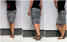 Sarka Klimankova: Umění chůze... DIY pouzdrová sukně