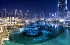 Dubai mall fountains http://orestegaspari.com/gallery/around-the-world/