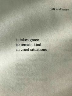 Always.. and I'll remain kind in it because that's who I am.