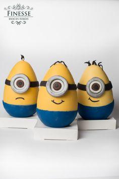 Olha aí os modelos de Ovo Minion que a Finesse fez para esta #pascoaincrivel 2014!