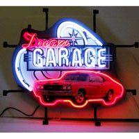 Dream Garage GM Chevy Chevelle SS Neon Sign