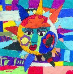 Mexican folk art sun