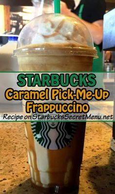 If you're in need of a pick-me-up and want to try something stronger than your regular coffee based Frappuccino, try it with espresso shots instead!