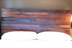 The Chad Queen Reclaimed Wormy Fir Bed by thelakenest on Etsy, $2200.00