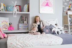 Grey and White, Neon and Bright: Eloise's Room + Discount Code- Petit & Small