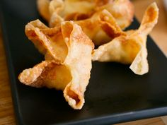Crab Rangoons (Crab Puffs) With Sweet and Sour Sauce ~ Note: Crab Rangoons can be frozen after step 2. Space them out on a rimmed baking sheet and place in the freezer until completely frozen, then transfer to a zipper-lock bag. They'll keep for up to three months.