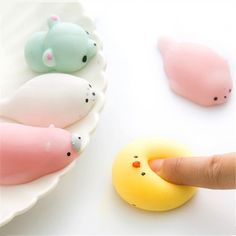 Japan Kawaii cute animals cat panda dog bear Seal turtle pinch creative gift decompression vent anti stress ball children toys