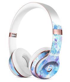 Watercolor Dreamcatcher Full-Body Skin Kit for the Beats by Dre Solo 3 Wireless Headphones