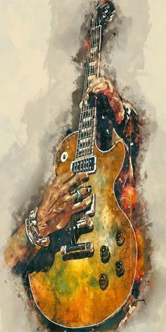 "Slash& Guitar Music Wall Art 12 x 16 ""- Music Poster Music Room Decor Guitar . - Slash& Guitar Music Wall Art ""- Music Poster Music Room Decor Guitar Electric Guitar G - Guitar Wall Art, Music Wall Art, Guitar Painting, Music Artwork, Music Painting, Guitar Gifts, Music Gifts, Pop Art Poster, Poster Prints"