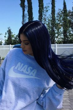 Kylie Jenner wearing VFiles Nasa Sweatshirt
