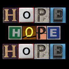 ...hope