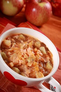 If you are looking for something a little different from your normal red cabbage soup, you may want to consider this Slovak treat.