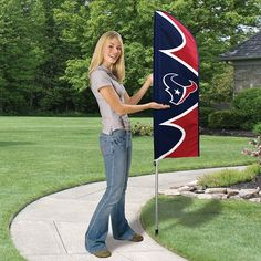 Swooper Flag with Pole - Houston Texans