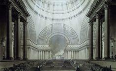 Etienne-Louis Boullée, projekt Metropole, 1781