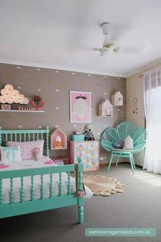 Super cute girls room