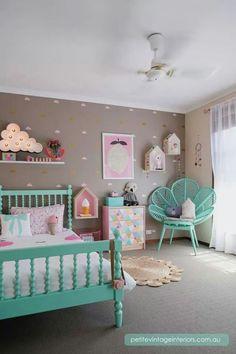 Super cute girls room