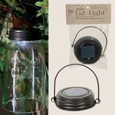 Hanging Solar Lid Light- Rustic Brown -- CTW Home Collection Online Store