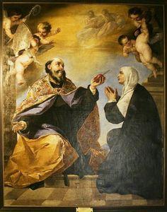 Santo Agostinho e sua mãe, Santa Mónica