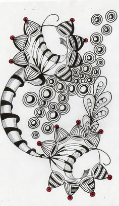 breathing , challenge no 7 Tangle Doodle, Tangle Art, Zen Doodle, Doodle Art, Zentangle Drawings, Doodles Zentangles, Doodle Drawings, Doodle Patterns, Zentangle Patterns