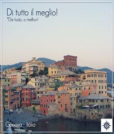 #Genova é um dos principais portos de embarque dos cruzeiros #MSC. Não deixe de conhecer essa linda cidade italiana!
