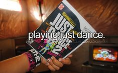 """Love just dance. I want the new one. OUR BOYS IS IN IT. I always play with my BFFFs haha """"this is funny. This is also revenge"""""""