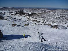 snowboarding at Perisher in Australia