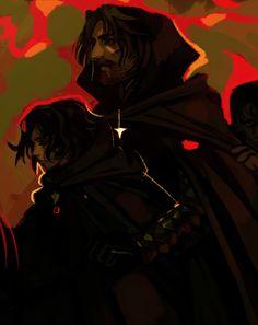 Арагорн и Фродо