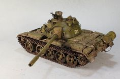 #t-55a #russian #soviet #army #tank #scale #models