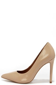 c55f40f84f8 Steve Madden Proto Blush Leather Pointed Pumps at Lulus.com! Pink High Heels