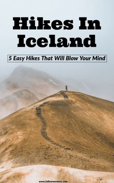 5 Best Easy Hikes In Iceland That Will Blow Your Mind | Iceland travel tips | travel to iceland | what to do in Iceland | hiking in iceland | best things to do in iceland | tips for visiting iceland #iceland #travel #hiking #hikes #icelandtravel #outdoors #adventure