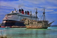 Disney Magic and Flying Dutchman | Flickr - Photo Sharing!