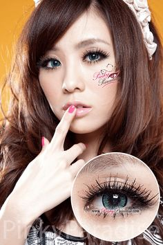 EOS New Adult Green Circle Lenses (Colored Contacts)
