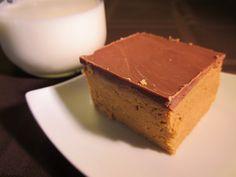 Gluten Free Peanut Butter Squares