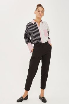 Slim Tapered Suit Trousers