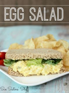 Classic Egg Salad Recipe - Six Sisters Stuff