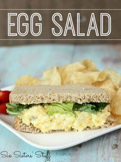 Classic Egg Salad Recipe - Six Sisters Stuff