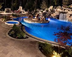 dream backyard/pool